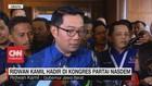 VIDEO: Ridwan Kamil Hadir di Kongres Partai Nasdem