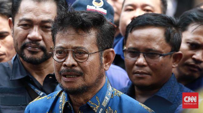 Menteri Pertanian Syahrul Yasin Limpo mengklaim kementeriannya rutin melakukan tes kesehatan melalui skema rapid dan swab test kepada seluruh pegawai.