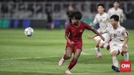 Momen Timnas Indonesia Hancurkan Nepal 2-0