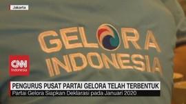 VIDEO: Pengurus Pusat Partai Gelora Telah Terbentuk