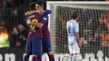 Suarez Menangis Berpisah dengan Barcelona