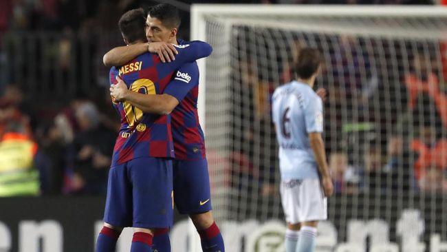 Atletico Madrid memiliki rencana di luar nalar dengan ingin menduetkan kembali Luis Suarez bersama Lionel Messi pada musim depan.