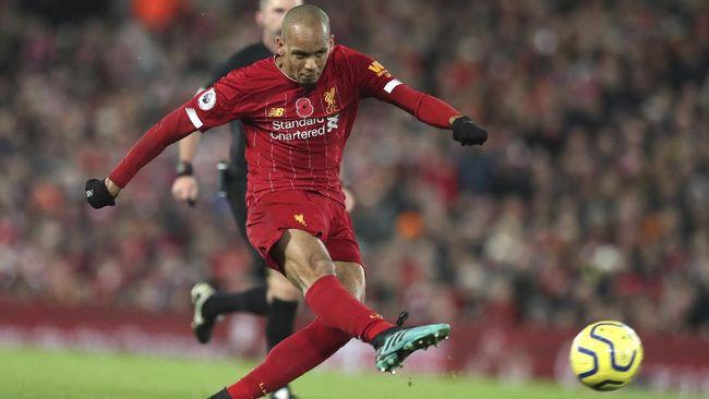 Liverpool tidak bisa menurunkan Fabinho yang cedera pada duel Liga Inggris lawan Leicester City, Sabtu (13/2).