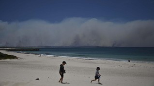 Kabut Asap Karhutla Australia Terdeteksi Hingga Brasil