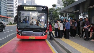TransJakarta Buka Rute Baru Integrasi dengan LRT