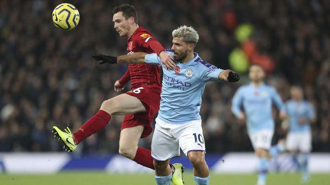Peluang Liverpool juara Liga Inggris musim ini bisa tergantung performa Manchester City di bulan Februari hingga Maret.