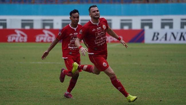 Duel Arema FC lawan Persija Jakarta dalam laga Liga 1 di Stadion Kanjuruhan berakhir imbang.