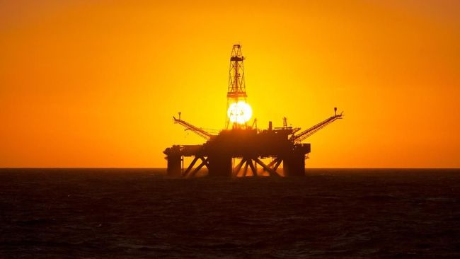 Harga minyak dunia melesat ke level harga tertinggi dalam 13 bulan dipicu kenaikan permintaan bahan bakar yang terjadi di tengah pembatasan produksi.