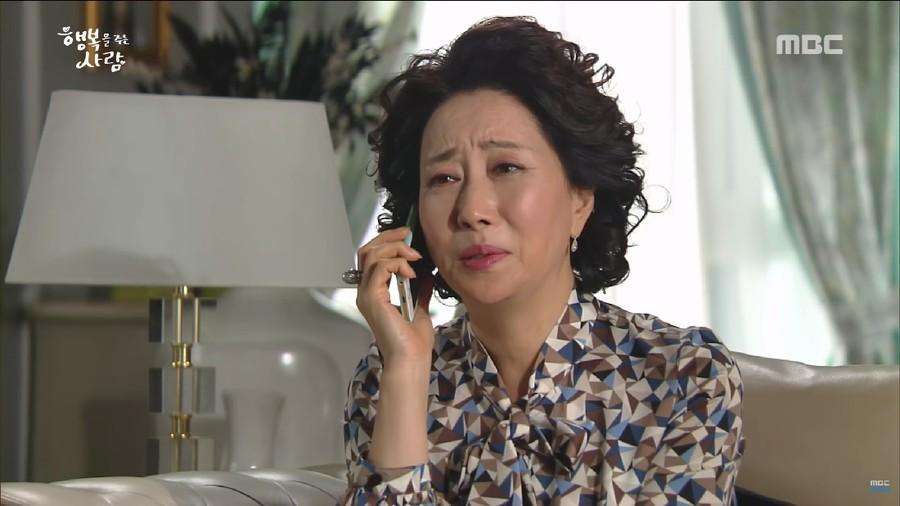 Drama Korea Person Who Gives Happiness Eps.54, Eun Hee Marah Besar