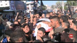 VIDEO: Ribuan Pelayat Antar Jenazah Pemimpin Jihad Islam