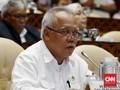 Basuki Teteskan Air Mata Doakan Anggota DPR yang Meninggal