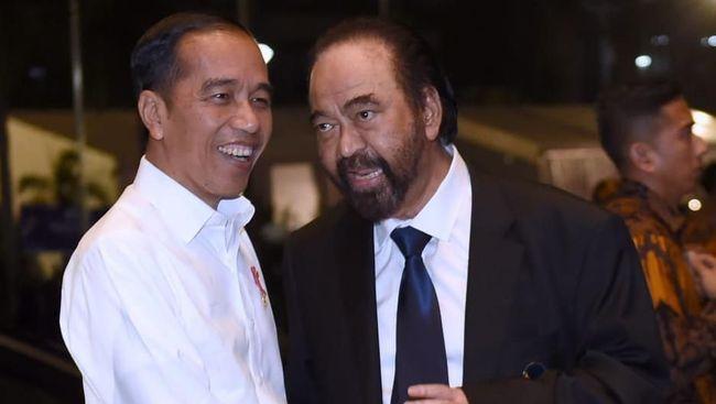 Jokowi pernah menyampaikan secara eksplisit kepada ketua Parpol, termasuk NasDem, yang tak mengizinkan iparnya maju Pilkada Gunung Kidul.