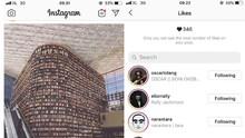Instagram Tak Sengaja Sembunyikan Like Akun Pengguna