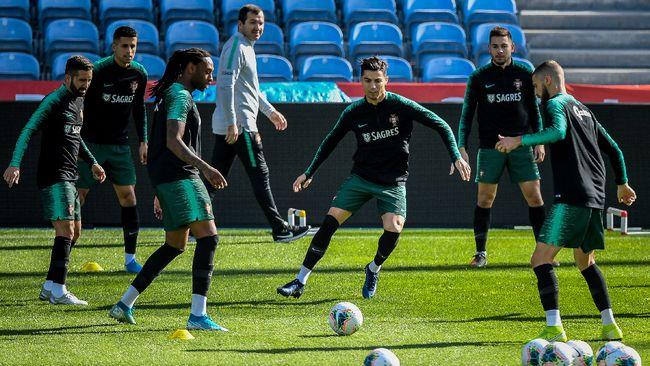 Penyerang timnas Portugal, Goncalo Paciencia, membantah klaim pelatih Juventus, Maurizio Sarri bahwa Cristiano Ronaldo masih mengalami cedera.