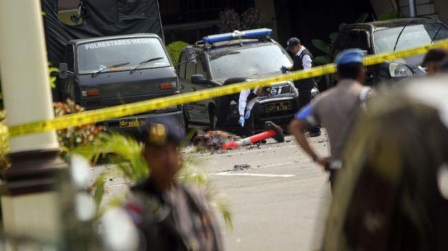 Aksi bom bunuh diri di Mapolrestabes Medan menimbulkan kekhawatiran bagi sejumlah pengemudi ojek online (ojol).