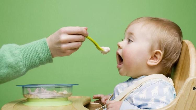 Bayi makan MPASI