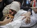 Rudal Israel Tewaskan Pria Disabilitas Gaza, Istri dan Anak