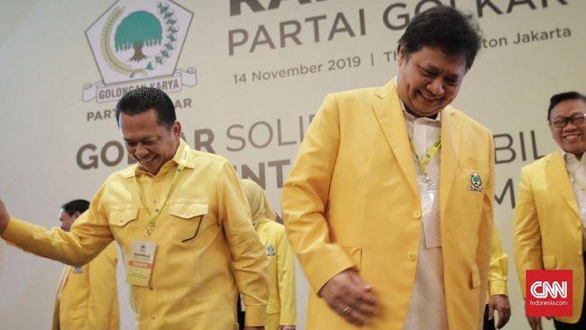 Kader Golkar Ace Hasan mengatakan Bamsoet melanggar janji dan kesepakatan dan mengkhianati Airlangga Hartarto dengan maju sebagai calon Ketum Golkar.