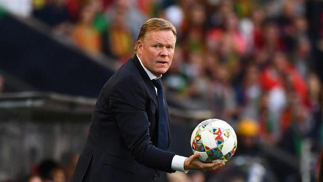 Pelatih timnas Belanda, Ronald Koeman, tak menutup peluang melatih Barcelona untuk menggantikan posisi Ernesto Valverde.