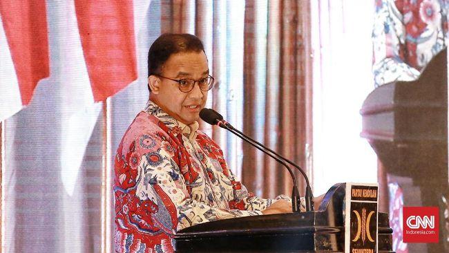 Gubernur DKI Jakarta Anies Baswedan mengaku ingin pelajar tingkat SMP, SMA,SMK mendiskusikan isu-isu terkini termasuk Omnibus Law UU Ciptaker.