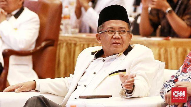 Presiden PKS Sohibul Iman menerapkan syarat pembentukan lembaga antikorupsi yang bersifat permanen dalam konstitusi jika MPR berniat amendemen UUD 45.