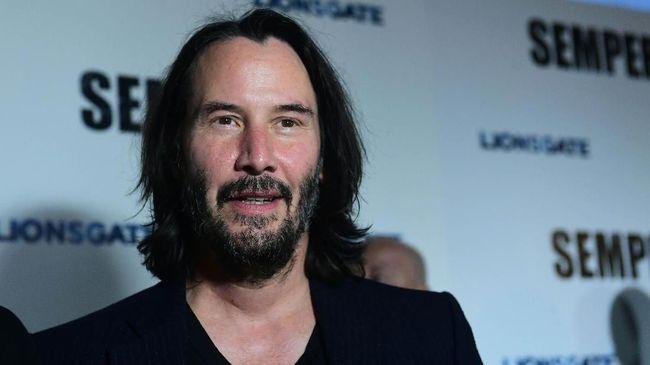 Aktor Keanu Reeves mengatakan film The Matrix 4 mengandung cerita cinta.