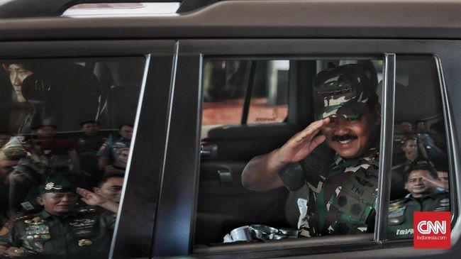 Kapolri Jenderal Listyo Sigit Prabowo dan Panglima TNI Marsekal Hadi Tjahjanto memimpin rapat tertutup dalam agenda Rapim TNI-Polri 2021 di Mabes Polri.