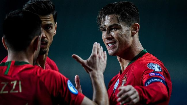 Juara bertahan Portugal hanya ada di pot tiga dan hal ini membuat mereka bakal jadi negara pemicu terciptanya grup neraka di Piala Eropa 2020.