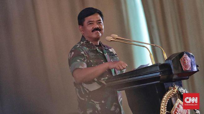 Panglima TNI Marsekal Hadi Tjahjanto meminta anak buahnya siaga menghadapi gejolak politi jelang Pilkada serentak 2020.