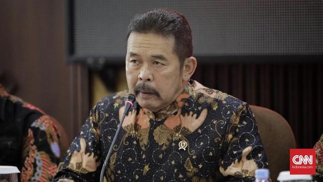 Pos Jaksa Agung Muda Bidang Militer Tinggal Diteken Jokowi