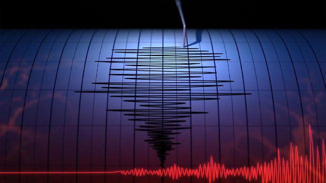 Gempa bumi berkekuatan magnitudo 5,6 terjadi di lautan, 140 kilometer barat daya Nias Barat, Sumatera Utara, Rabu (14/4) petang.