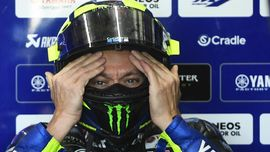 Rossi Sempat Putus Asa Sebelum Podium di MotoGP Andalusia