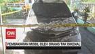 VIDEO: Mobil Warga Dibakar Orang Tak Dikenal