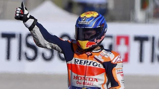 Fabio Quartararo mengalahkan Marc Marquez untuk merebut pole MotoGP Valencia 2019 di Sirkuit Ricardo Tormo, Sabtu (16/11).