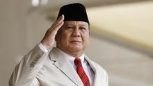 Prabowo Cek Pembuatan Kapal Perang TNI di Bekasi