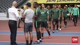 FOTO: Latihan Terakhir Indonesia Jelang Lawan Malaysia