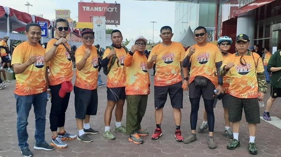Dukung Tasikmalaya sebagai Kota Sehat, Transmart Gelar Gowes Bareng