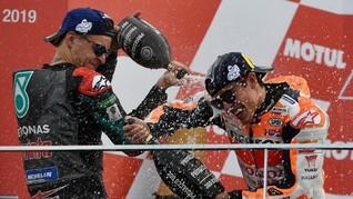 Quartararo Anggap Marquez Robot di MotoGP Andalusia