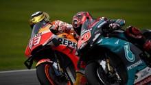 Marquez Terancam Tertinggal 100 Poin di MotoGP 2020