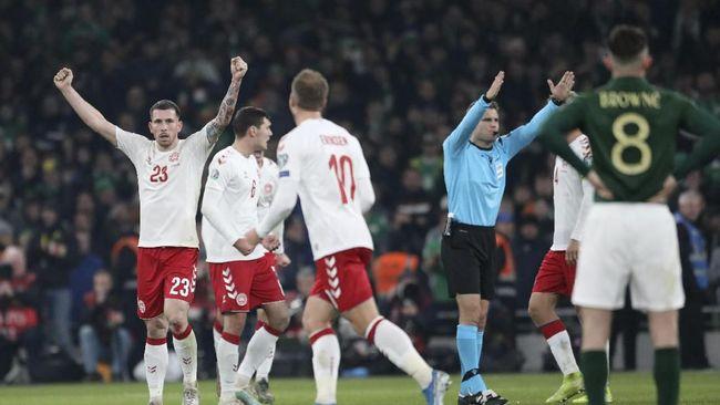 Kontestan yang lolos ke Piala Eropa 2020 jadi 19 tim setelah Swiss dan Denmark memastikan tiket ke putaran final dari Grup D.