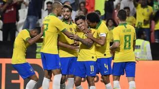 Firmino Dua Gol, Brasil Menang Mudah Lawan Bolivia