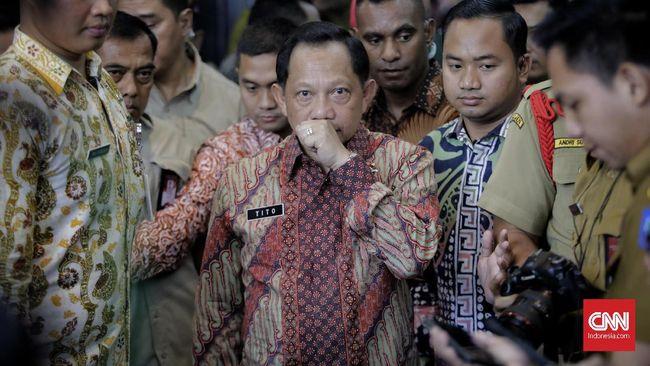 Mendagri Tito Karnavian mencatat ada tiga tipe ormas di Indonesia, salah satunya ormas berdampak negatif yang dia anggap mengancam Pancasila.