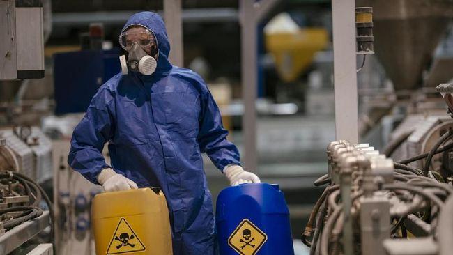 Ada 906 drum limbah radioaktif dari hasil proses dekontaminasi Perumahan Batan Indah di Tangsel untuk menurunkan paparan radiasi hingga aman.