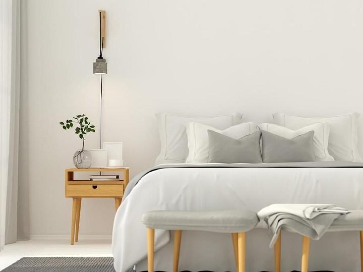 Konsep interior minimalis adalah tidak menggunakan banyak furnitur dan dekorasi dalam satu ruangan.