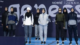 Busana Olahraga Ramah Hijaber 'Racikan' Noore X Jenahara