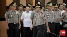 Kapolri Naikkan Pangkat 11 Perwira Tinggi