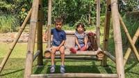 Kedua anak Spaso paling sering menghabiskan waktu di luar rumah. Seru ya? (Foto: Instagram @lelhyspaso)