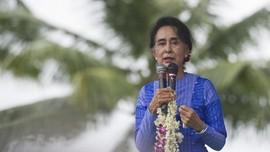 Suu Kyi Kembali Maju Jadi Caleg di Pemilu Myanmar