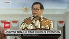 VIDEO - Pramono Anung: Presiden Akan Kenalkan 12 Staf Khusus
