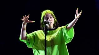 Video my future Billie Eilish Pukau Warga Jepang